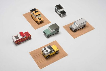 Land Rover Maquettes